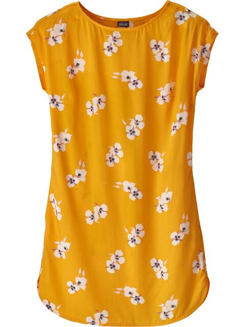 Patagonia June Lake - Robe Femme - jaune